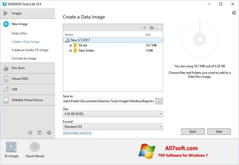 Screenshot DAEMON Tools Lite Windows 7