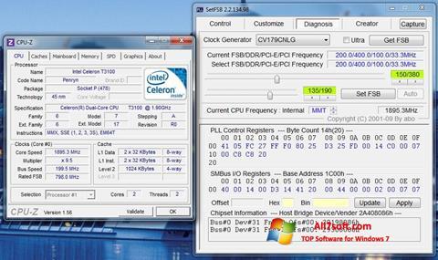 Screenshot SetFSB Windows 7