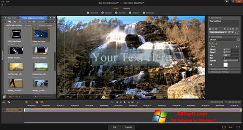 Screenshot Pinnacle Studio Windows 7