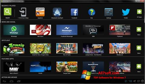 Screenshot BlueStacks Windows 7
