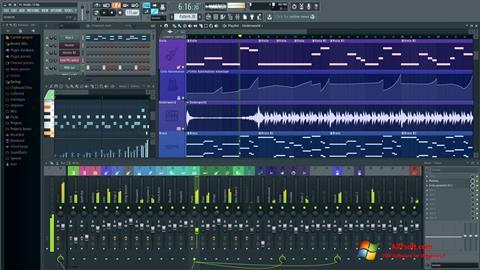 Screenshot FL Studio Windows 7
