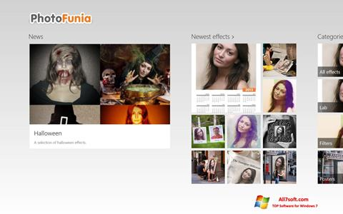 Screenshot PhotoFunia Windows 7